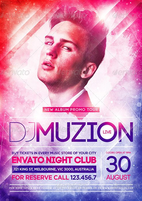 Elegant Club Flyers Printing Nyc 4