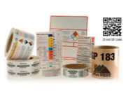 Professional Business Stickers for Shipping and Security Labels, By Roll or Cut to Size